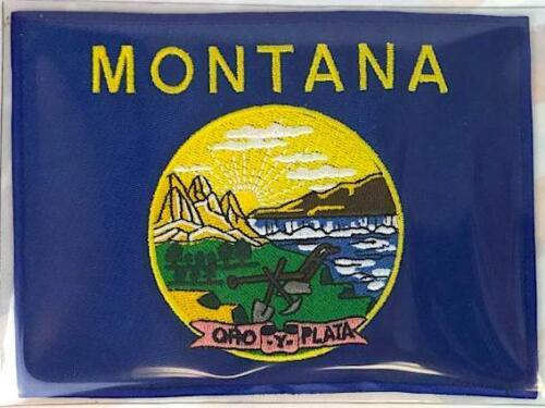 MONTANA ~ Willabee & Ward STATE FLAG PATCH United States Collection ~ PATCH ONLY