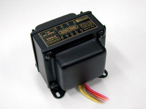 Hashimoto HC-203U Output Transformer 20W Single 2.5K,3.5K/16,8,4 for 300B etc.