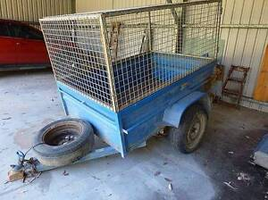 High sided  6x4 trailer with cage and ramps Gloucester Gloucester Area Preview