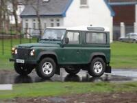 Land Rover 90 Defender Hard Top Td5 with Extras - ONLY 88,500 Miles and FSH