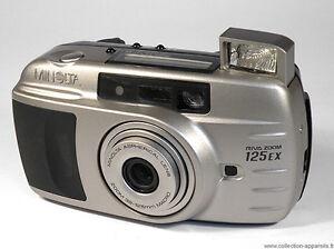 MINOLTA RIVA ZOOM 125 EX Lens 39-125mm