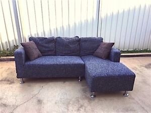 3 Seat sofa with chaise (Can delivery) Prestons Liverpool Area Preview
