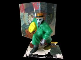 MF DOOM Collectable Figure & Framed 'Avalanche' Vinyl - Rappcats (With Box)