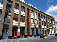Co-working desk space to let in EC2, Old Street - shared units, serviced