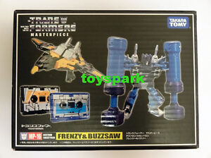 Takara Transformers Masterpiece MP-16 FRENZY & BUZZSAW Cassette G1 for soundwave