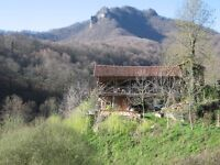 BEAUTIFUL LARGE CONVERTED BARN TO RENT IN PYRENEES, FRANCE (NEAR TOULOUSE)