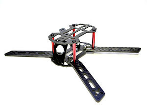 DTI Blade 150 with built in 5V 1A BEC. mini FPV racing drone