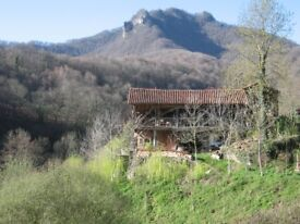 BEAUTIFUL LARGE CONVERTED BARN FOR RENT IN FRANCE PYRENEES NEAR TOULOUSE