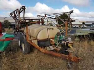Croplands Trailing Boom Sprayer Mount Gambier Grant Area Preview
