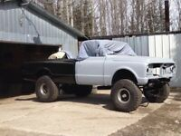 1969 Chevy 4x4 project