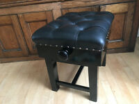 Leather Concert Piano Stool