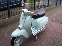lambretta li 125 italian fully restored mint 12v electronic converted