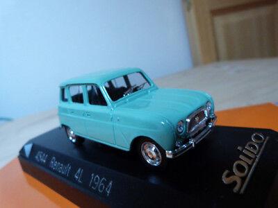 Renault miniature 1/43 4L 1964 Solido Réf :4544