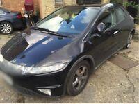 06 Honda Civic ES I-vtec black 1.8L - Cat C with v5 logbook