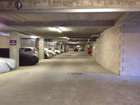 Secure, underground parking space Now Available to rent in Battersea