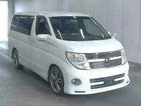 2008 Nissan Elgrand 2.5 FULL LEATHERS HEATED SEATS 5dr Estate Petrol Automatic