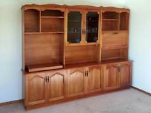 Cocktail and Display Cabinet with TV platform in solid Blackwood Punchbowl Launceston Area Preview