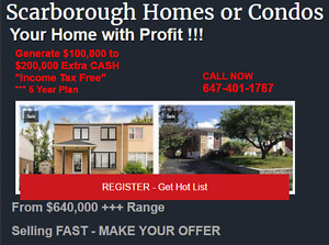 Scarborough Homes For Sale From 650K Get the Hot Deals!