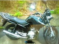 Yamaha 125cc (not Honda, Suzuki or Kawasaki)