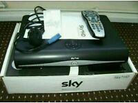 Sky Box + Remote + Cables