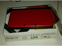Boxed red 3ds xl