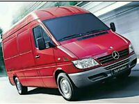Mercedes Sprinter CDI engine complete can be heard running