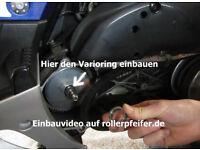 Mofadrossel Ersatzdrosselset MBK Nitro Yamaha Aerox Neos Stunt Jog BWs Booster
