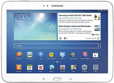 Samsung Galaxy Tab 3 P5210 16GB, Wi-Fi 10.1in White Tablet