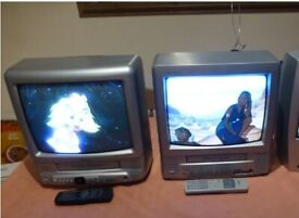 TV VCR Combo's 14'' - 2 available (with working VCRs and remote controls)
