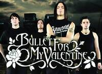 Bullet for my valentine VIP ticket