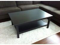 Hemnes ikea coffee table black brown RRP £120