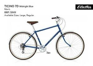 Electra Ticino 7D Men's Bike - Medium Frame