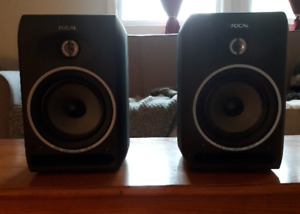 Focal Pro CMs 65 Nearfield Studio Monitors (Excellent Condition)