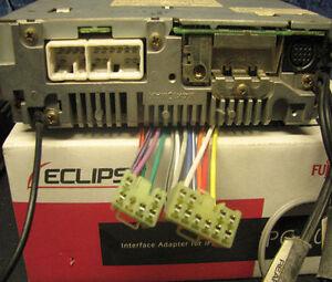 eclipse stereo radio wire harness power plug avn5500. Black Bedroom Furniture Sets. Home Design Ideas