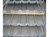 ROOFING SHEETS GALVANISED BOX PROFILE 17Kg HEAVY GAUGE 10fT FREE DELIVERY !
