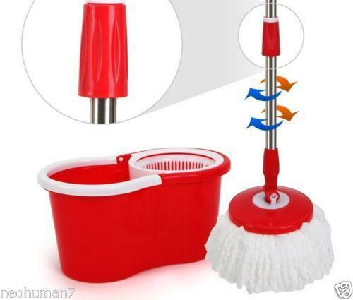Spin Mop With Bucket Ebay