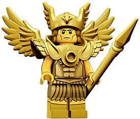 2 LEGO FIGURES series 15 (The Astonaut & Flying Warrior - Golden Wing}