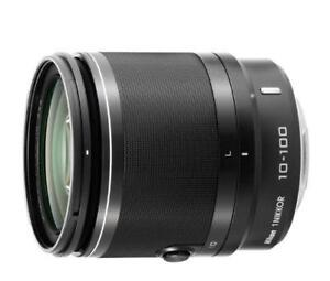 NEW Nikon 1 NIKKOR 10-100mm f/4.0-5.6 VR Lens (Black)