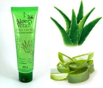 100% Original Pure Aloe Vera Gel Tanning After Sun Skin care Moisturizers