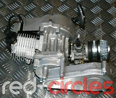 NEW 49cc MINIMOTO MINI MOTO DIRT BIKE QUAD ATV ENGINE CARBURETTOR PULLSTART COIL