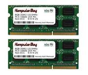 2X 8GB 16GB DDR3 1333 MHz