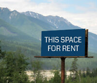 Trans-Canada Hwy #1 Billboard Rental Spaces