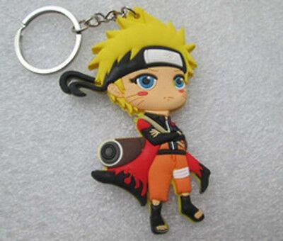 HOT Japan Naruto Shippuden Cartoon Anime Manga Keychain Keyring Chibi Figure Toy