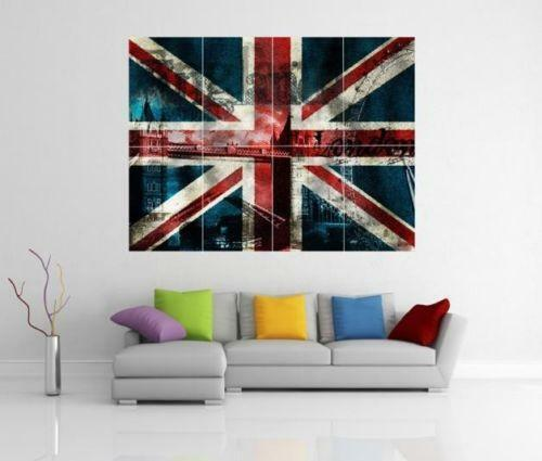 Union Jack Wall Art Ebay