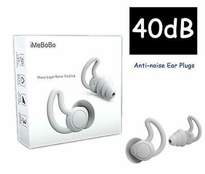 Fishstar Reusable Safe Silicone Earplugs Noise Cancelling Ear Plugs For