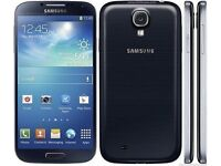 ***SAMSUNG GALAXY S4 - 16GB - UNLOCKED SIM FREE ANDROID MOBILE SMARTPHONE - GT-I9505 - MIST BLACK**