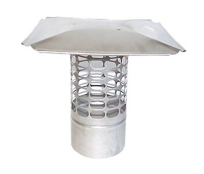The Forever Cap CCSS8R 8-Inch Stainless Steel Slip in Round Chimney Cap, New, Fr ()