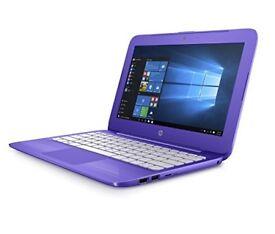 PURPLE HP STREAM/ INTEL DUAL CORE 2.16 GHz/ 2 GB Ram/ 32 GB eMMC/ HDMI/ WEBCAM/ USB 3.0/ WIN 10