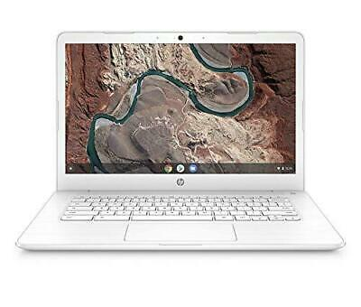 HP Chromebook 14-ca051sa 14'' HD Laptop Intel Celeron N3350, 4GB RAM, 32GB eMMC