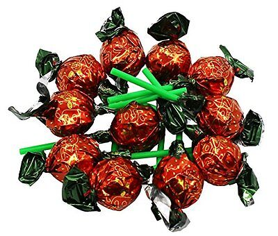 Zaza Chewy Filled Strawberry Lollipops Kosher 780gram (Large) - Large Lollipops